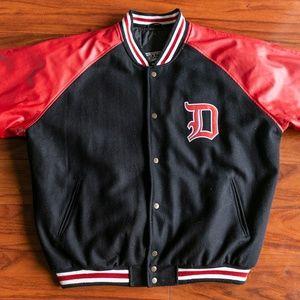 Vintage Steve & Barrys DETROIT Varsity Jacket